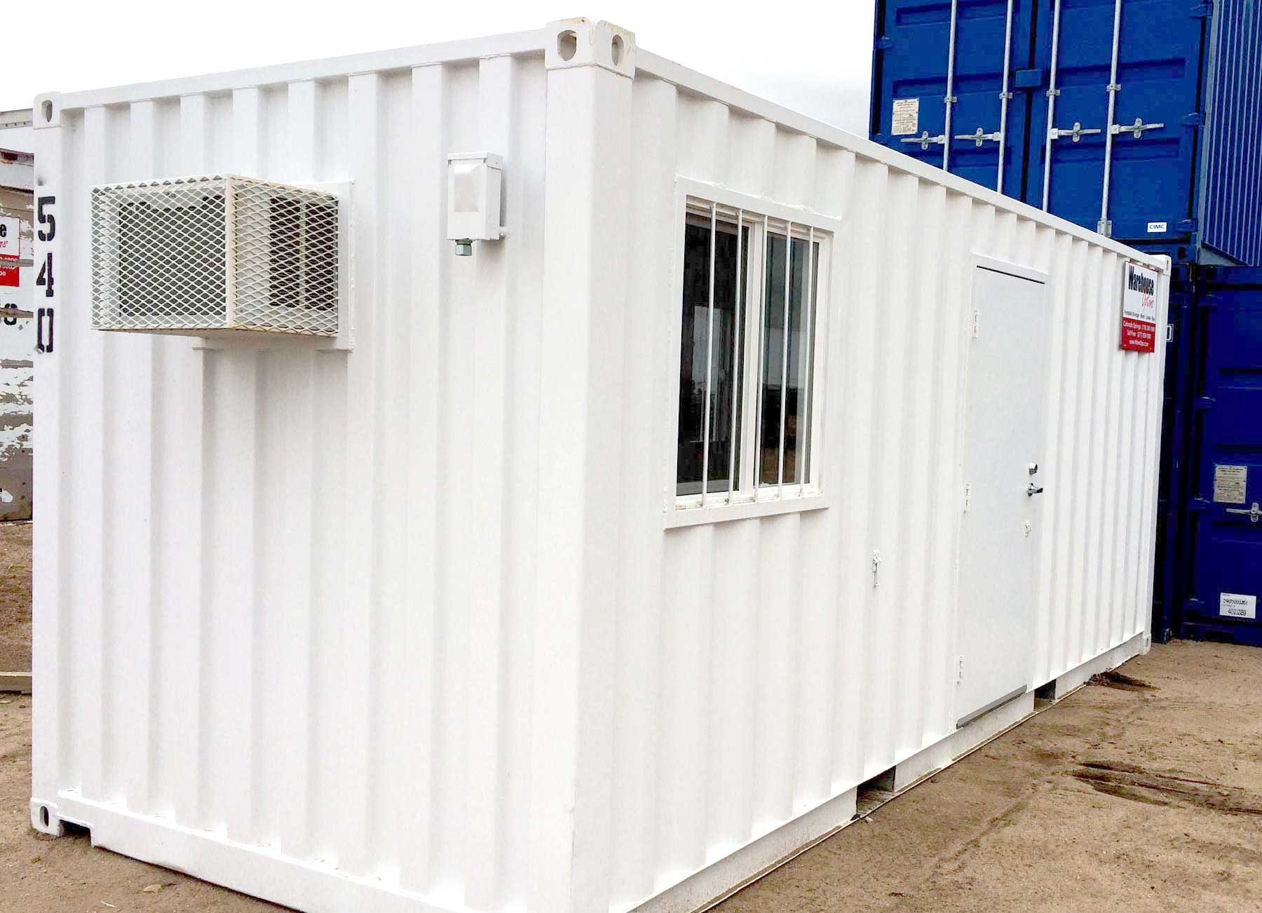 Portable Offices • Warehouse Options