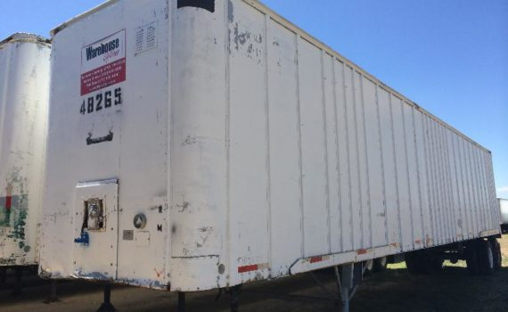 Classic 1969 Strick 48-foot Semi-Trailer for sale - $3,000 | Warehouse Options image 4