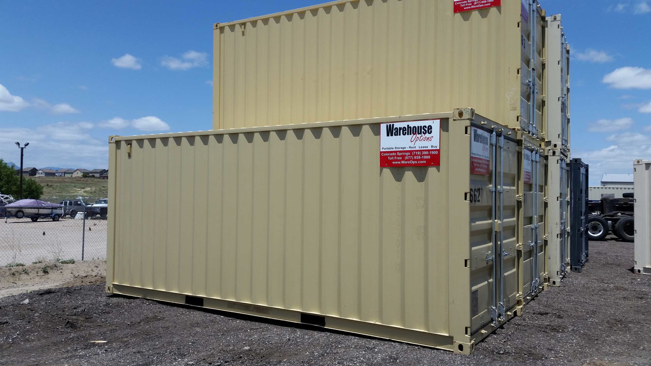 20 foot One Trip Storage Containers 4800 Warehouse Options