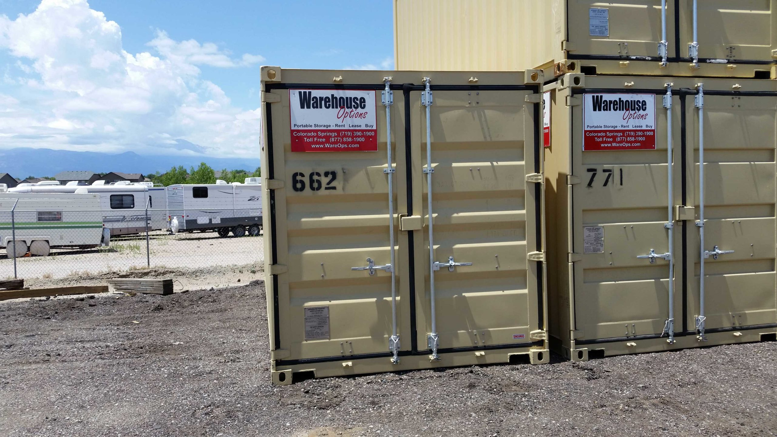 20 Foot One Trip Storage Containers 4 800 Warehouse