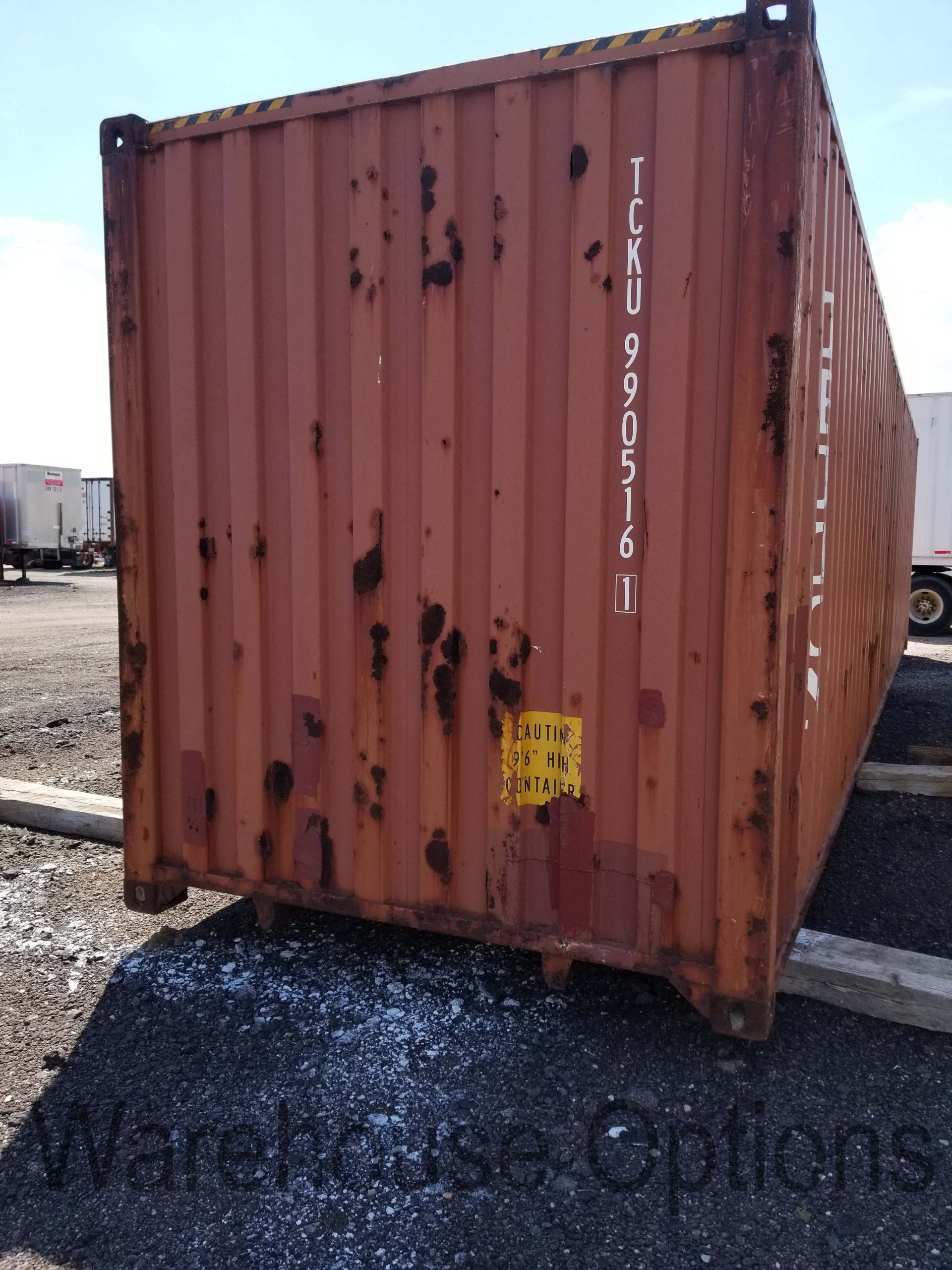 storage container door storage container interior storage container end & High Cube 40-foot Shipping Container - $4450 u2022 Warehouse Options