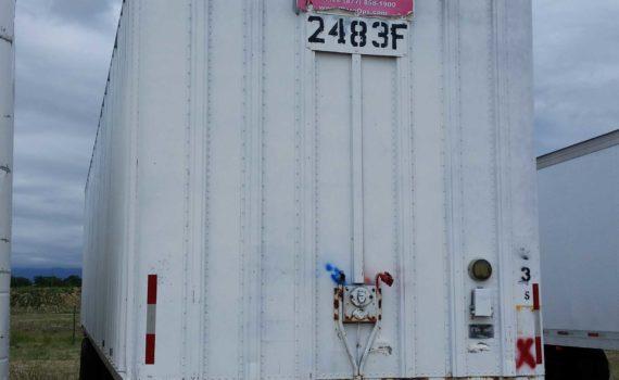 1974FRUEHAUF 45-foot Semi-Trailer - $2,200 | Warehouse Options image 1