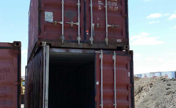 cargo-worthy storage container